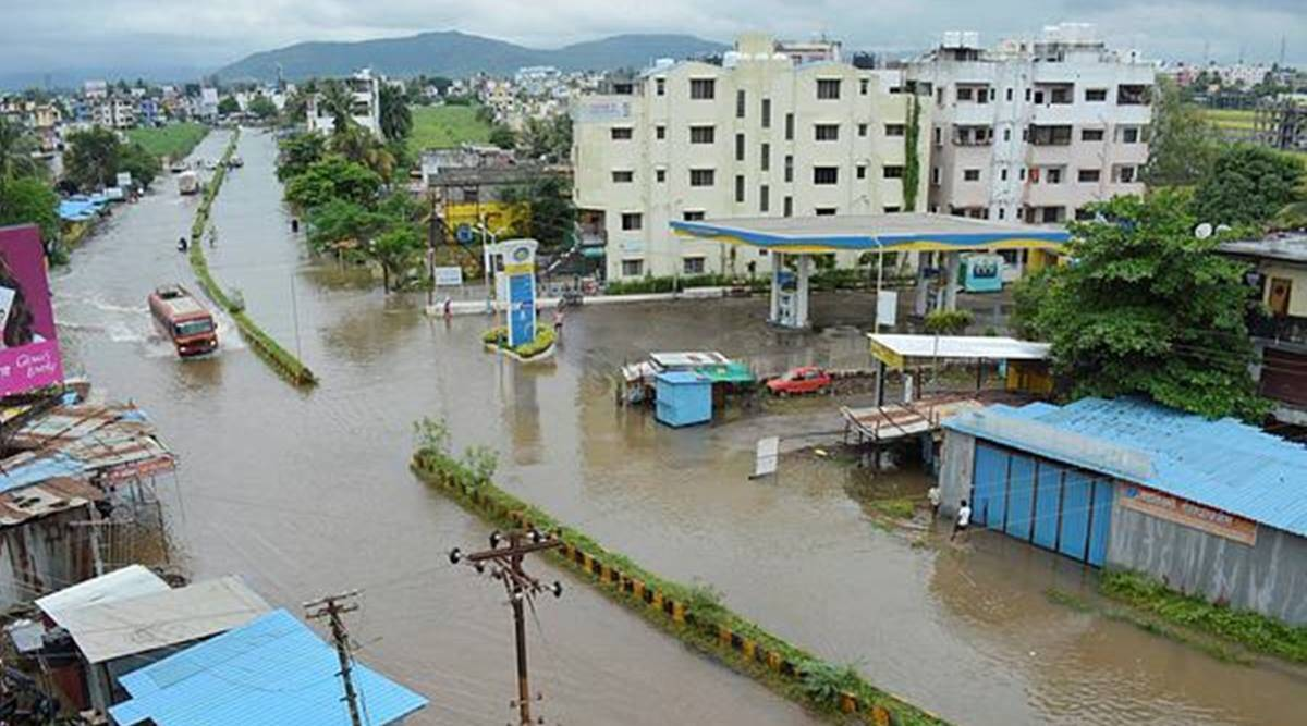 It may be noted that Sangli district did not receive heavy rainfall, but heavy discharge of water from the Koyna dam in Satara district