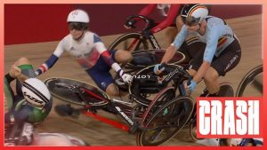 tokyo-olympics:-gb's-laura-kenny-fascinated-with-mammoth-atomize-in-dramatic-open-to-ladies-folks's-omnium